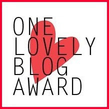 lovely blog award