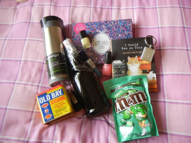 care box from greg