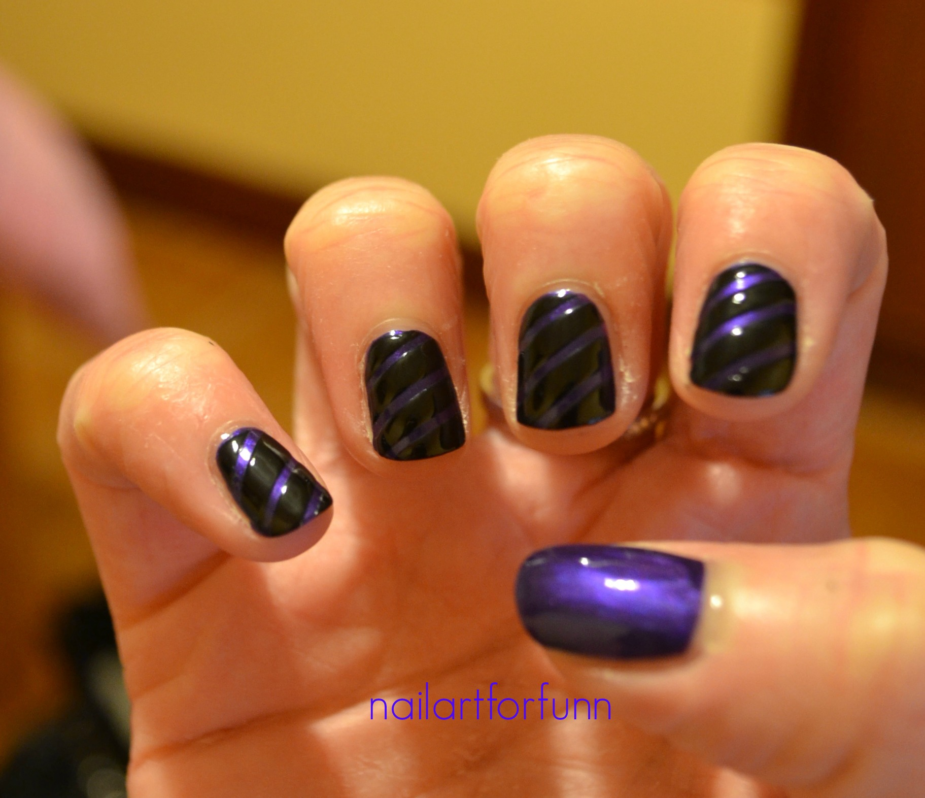 Black | Nailart for funn!